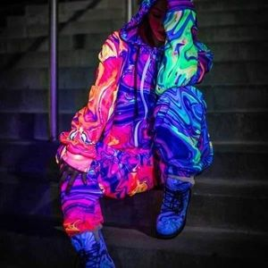 New Neon Nuclear Adult Onesie by Electro Threads